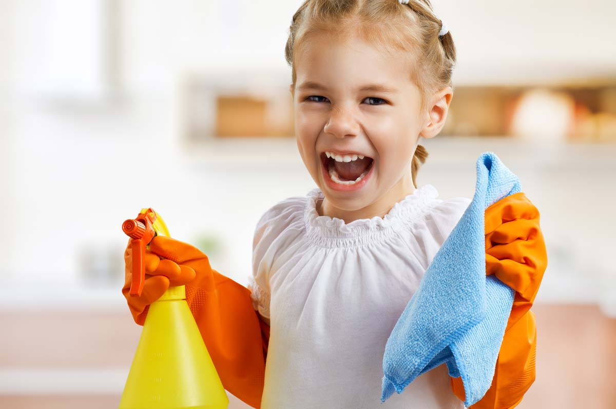 kidCleaning